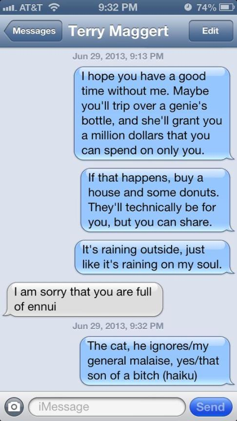 Text Ennui