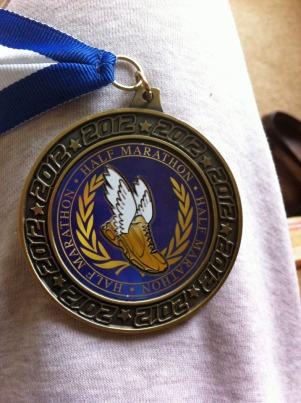 Half-Marathon Medal