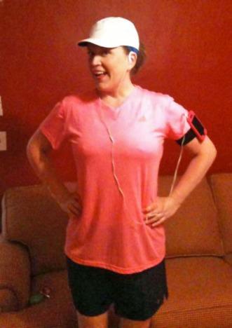 Missy, Pre-Half-Marathon