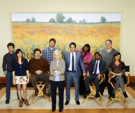 Cast of NBC's Parks & Rec