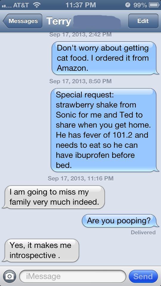 Conversation Between Spouses